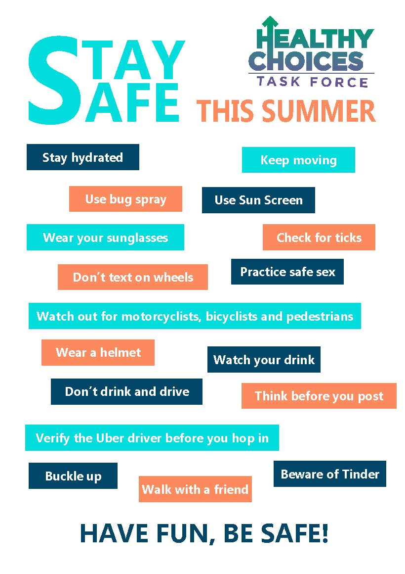 Summer Bucket List and Safety