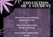 Marijuana - Conviction of a Student
