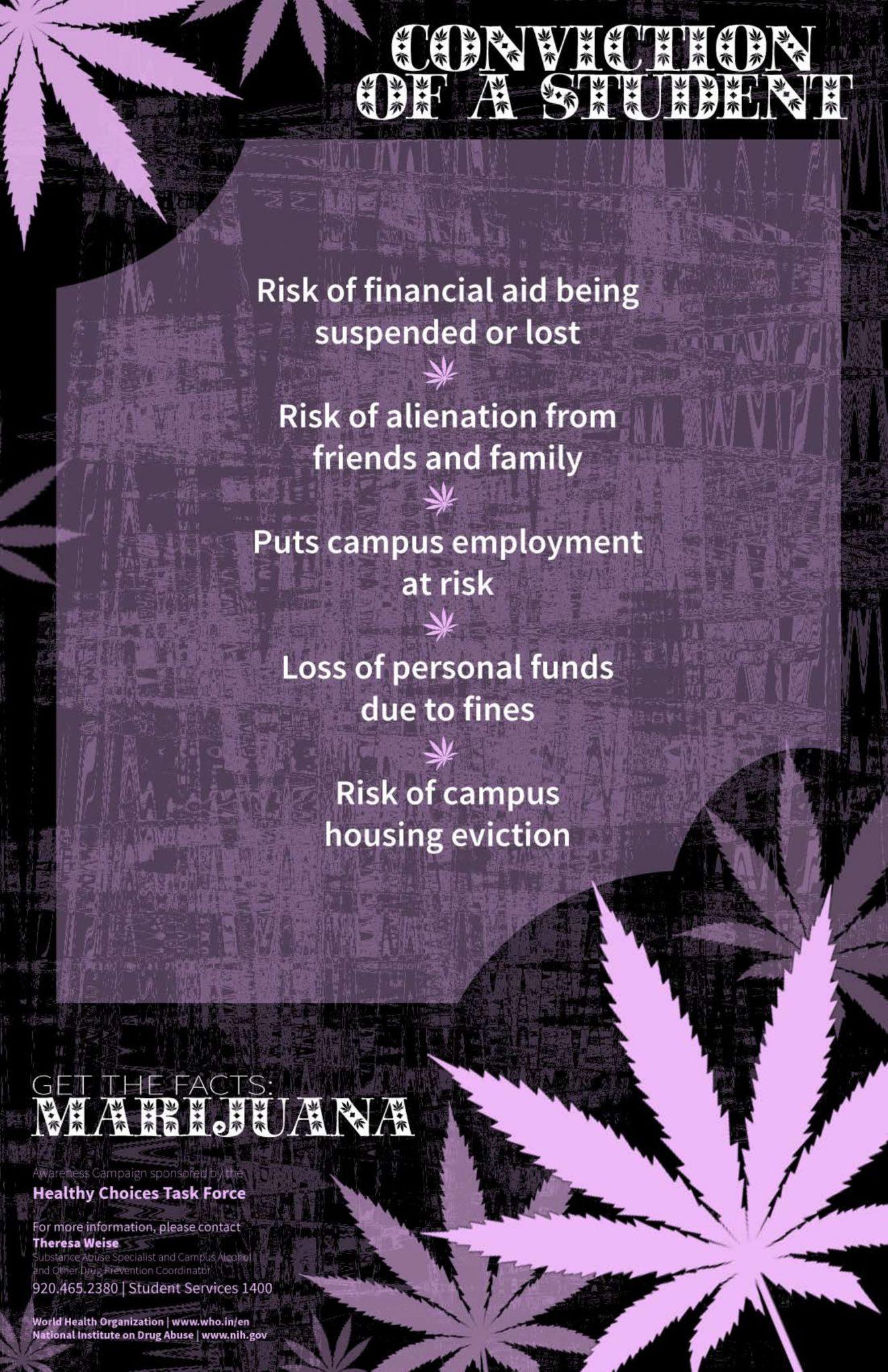 Marijuana - Conviction of a Student