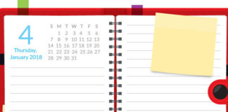 January 4 2018 Planner