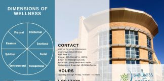 University of Wyoming Wellness Center Brochure