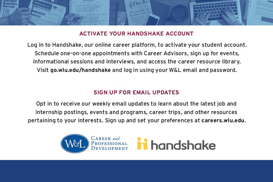 Activate Handshake