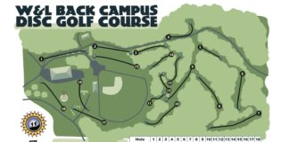 W&L Back College Disc Golf Course