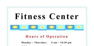 Fitness Center Hours