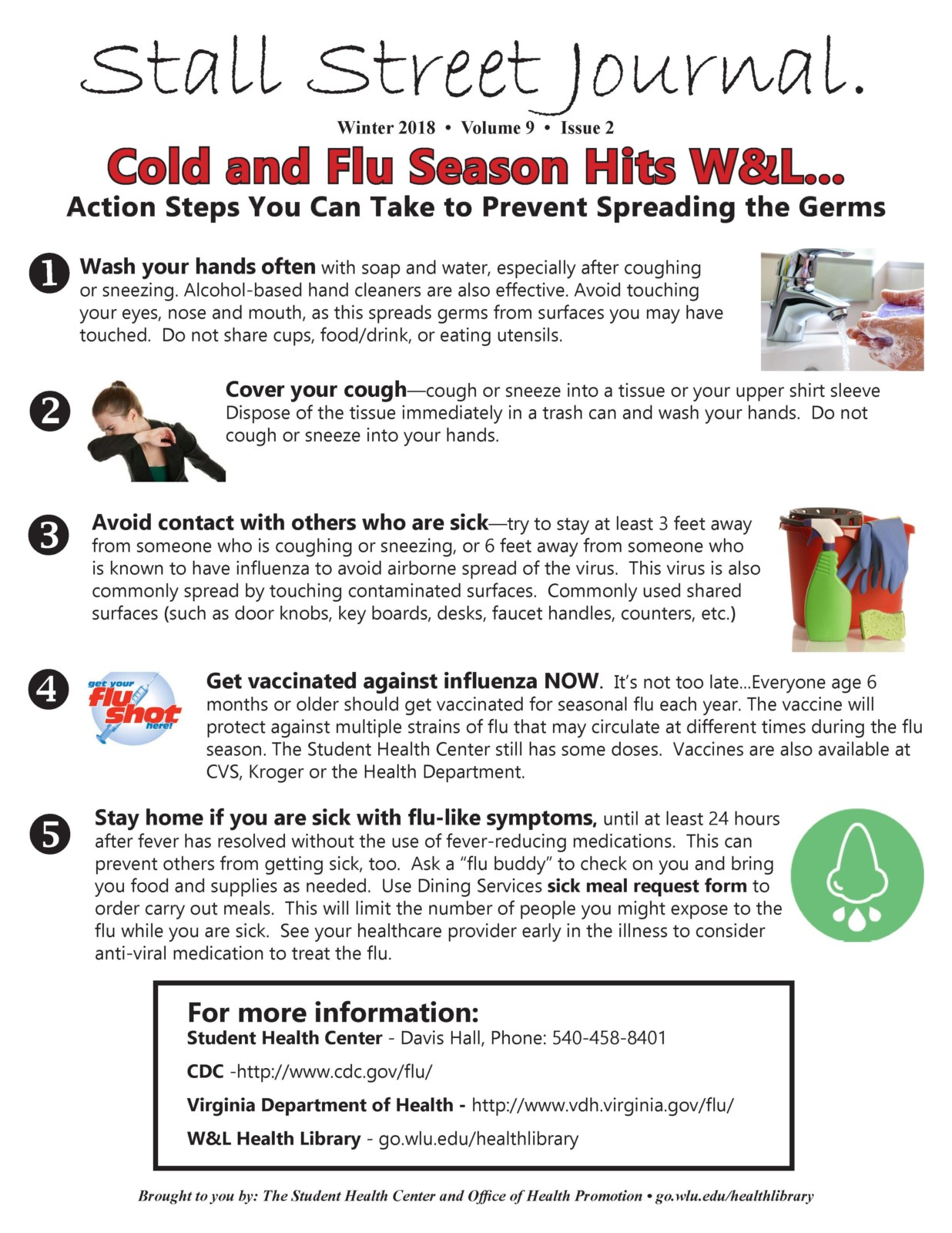 Prevent Colds and Flu