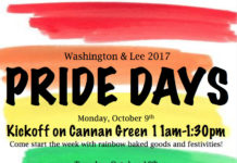 W&L Pride Days 2017