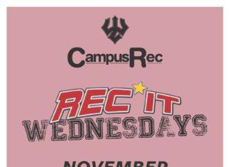 Rec it Wednesdays November