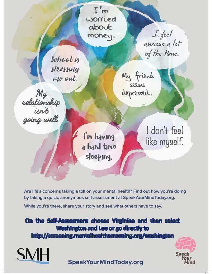 Mental Health Self Assessment