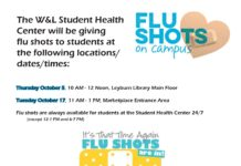 Flu Shots at W&L