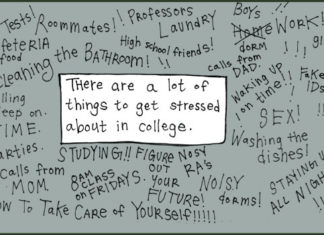 There are a lot of things that can cause stress in college