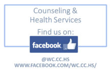 Counseling Center ansd Health Services Facebook Page