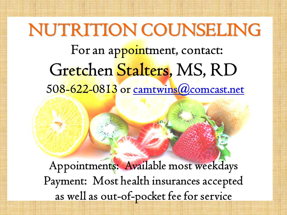 Nutrition Counseling with Gretchen Stalters