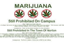 Marijuana - Still Prohibited on Campus