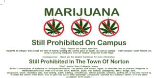 Marijuana - Still Prohibited on Campus