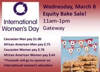 International Women's Day Bake Sale