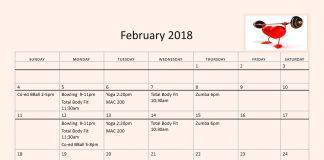 DU Exercise Schedule