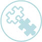 Icon: puzzle pieces