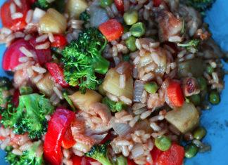 Rice stir-fry