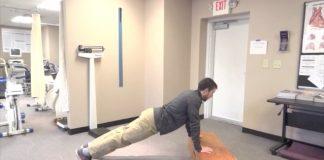 Frankie exercising