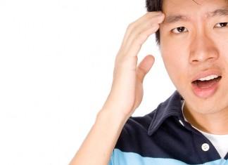 Student with Headache