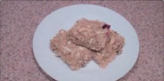 Breakfast Cereal Bar