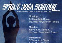 Spring 2018 Yoga