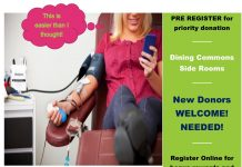 Blood Drive – Wed. May 9