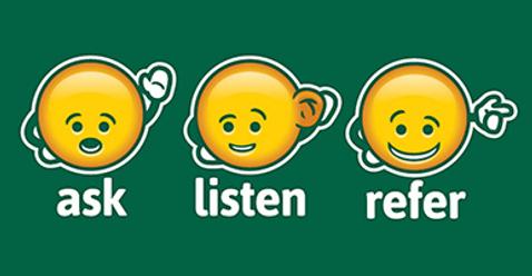Ask Listen Refer Emojis