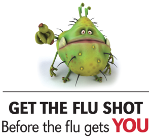 Get the flu shot before the flu gets you