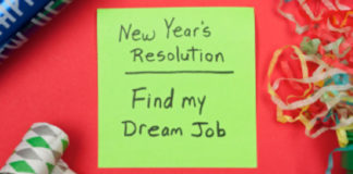 New Year's Resolution: Find my dream job