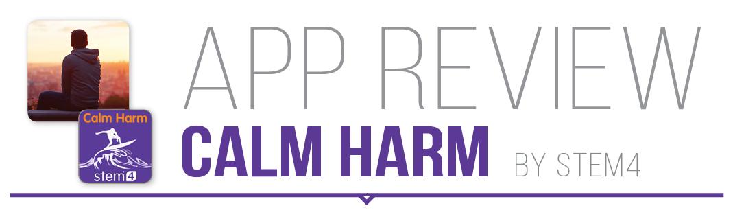 App review: Calm Harm by Stem4