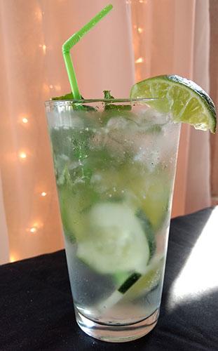 Cucumber lime mint