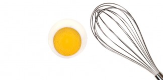 Whisk and egg