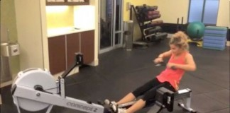 Stair climber and rowing