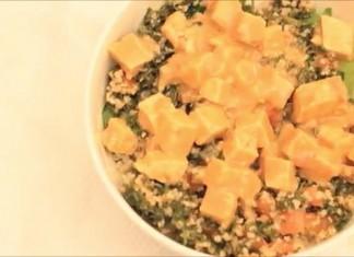 Tabbouleh Quinoa Tofu Salad