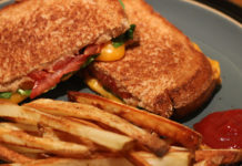 Grilled cheese and fries | healthy grilled cheese recipe