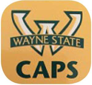 Wayne State Caps Logo