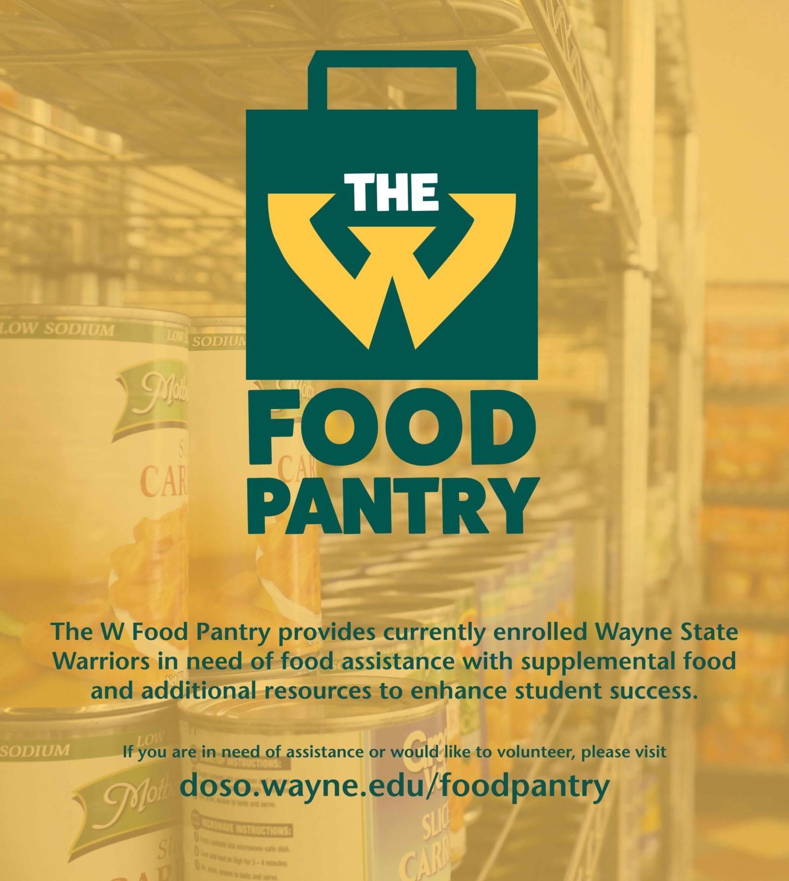 The wayne state university food pantry