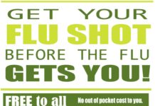 Get your flu shot before the flu gets you!
