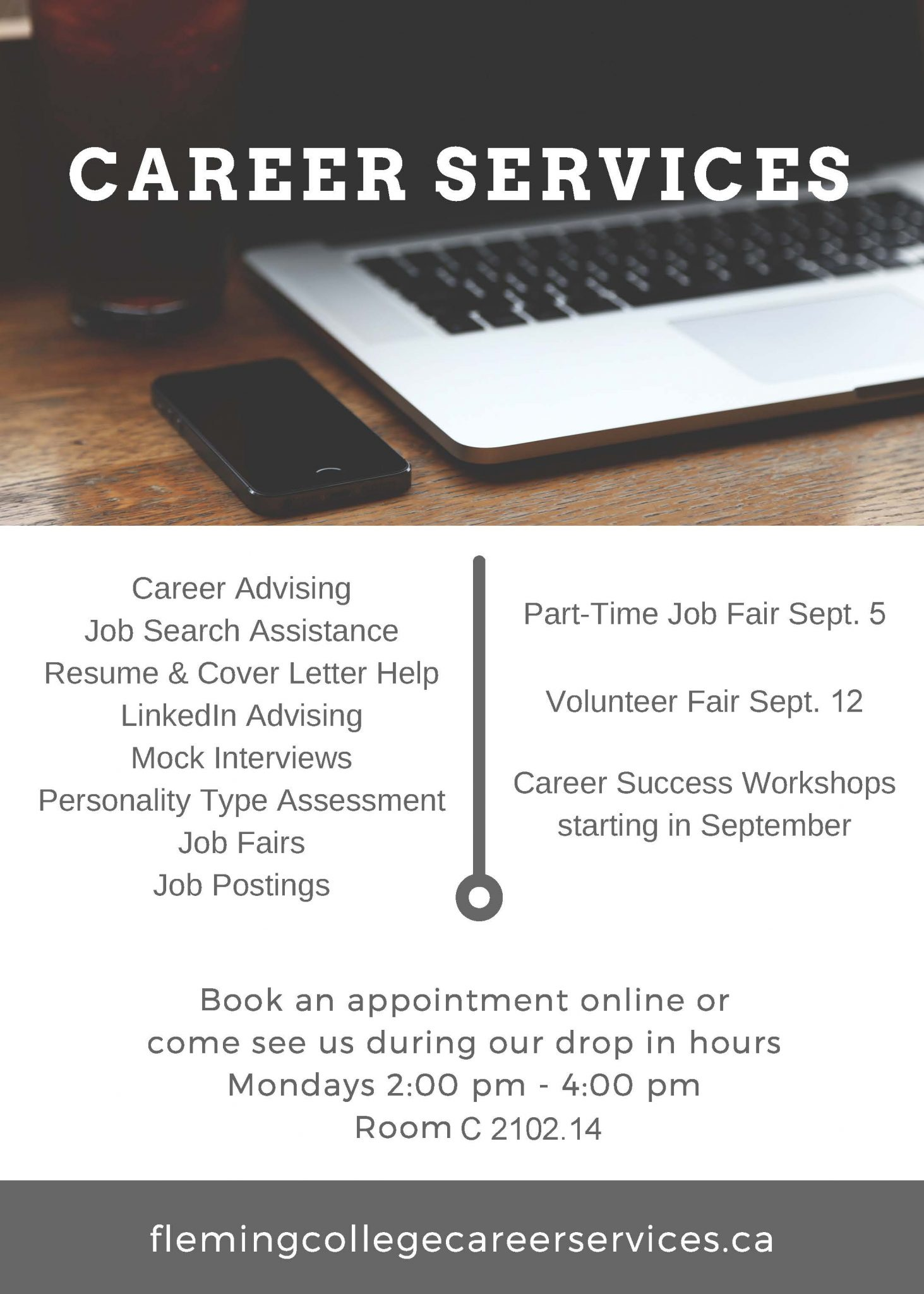 Career Services Info