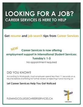 Career Services International Student Services