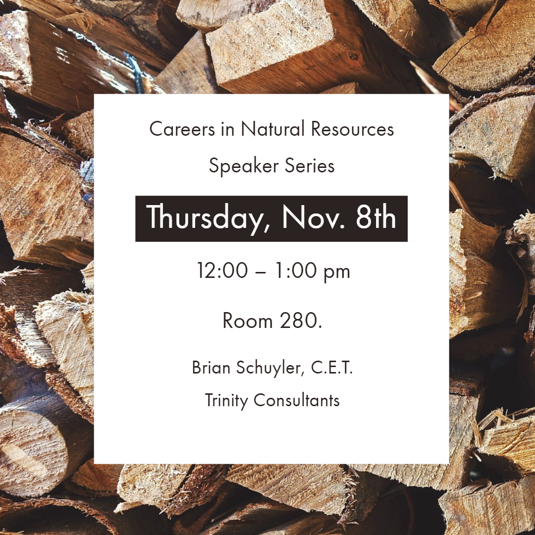 Career in Natural Resources Speaker Series