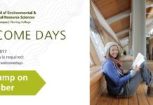 Welcome Days Information Package – Frost Campus