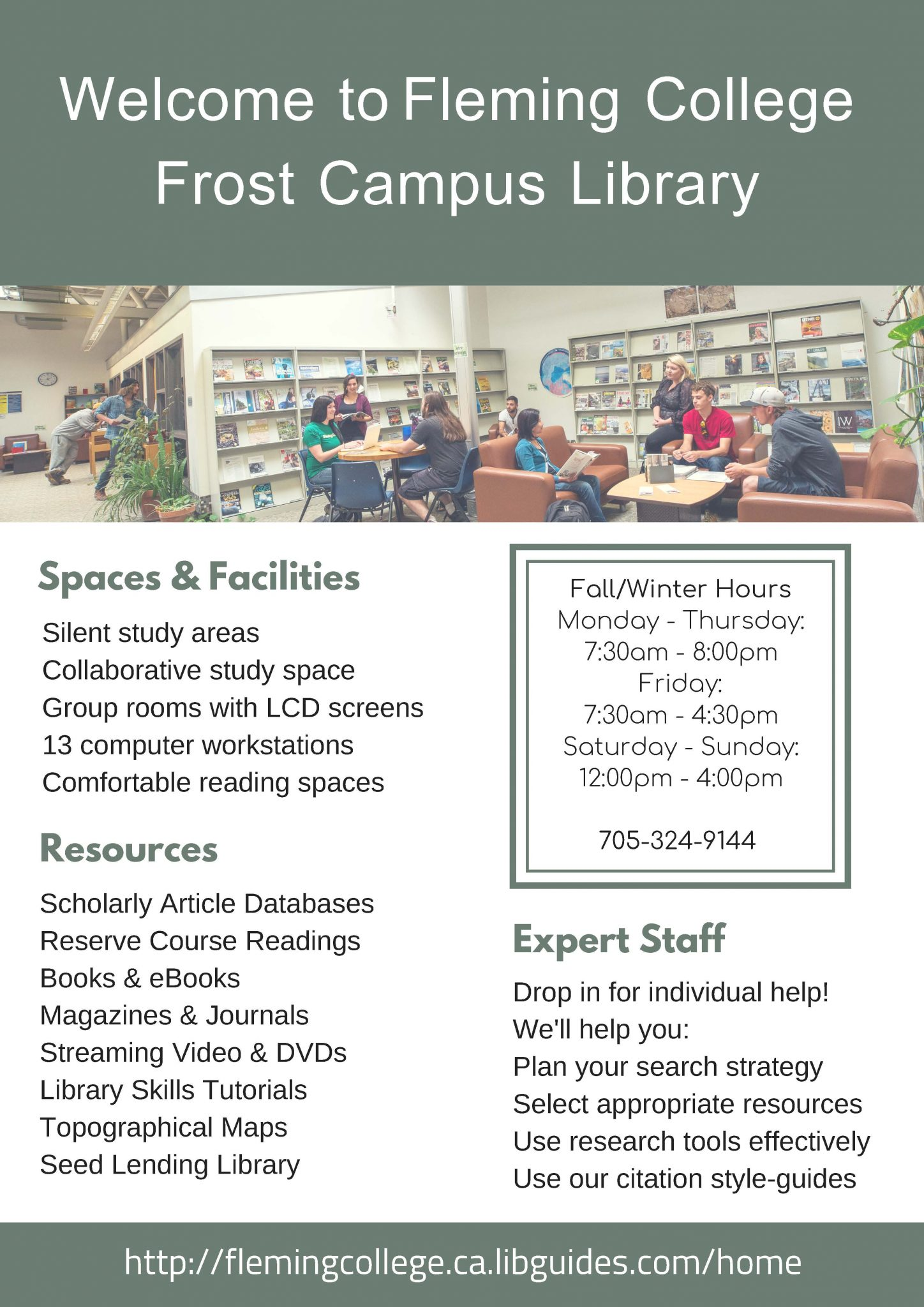 Frost Library Info