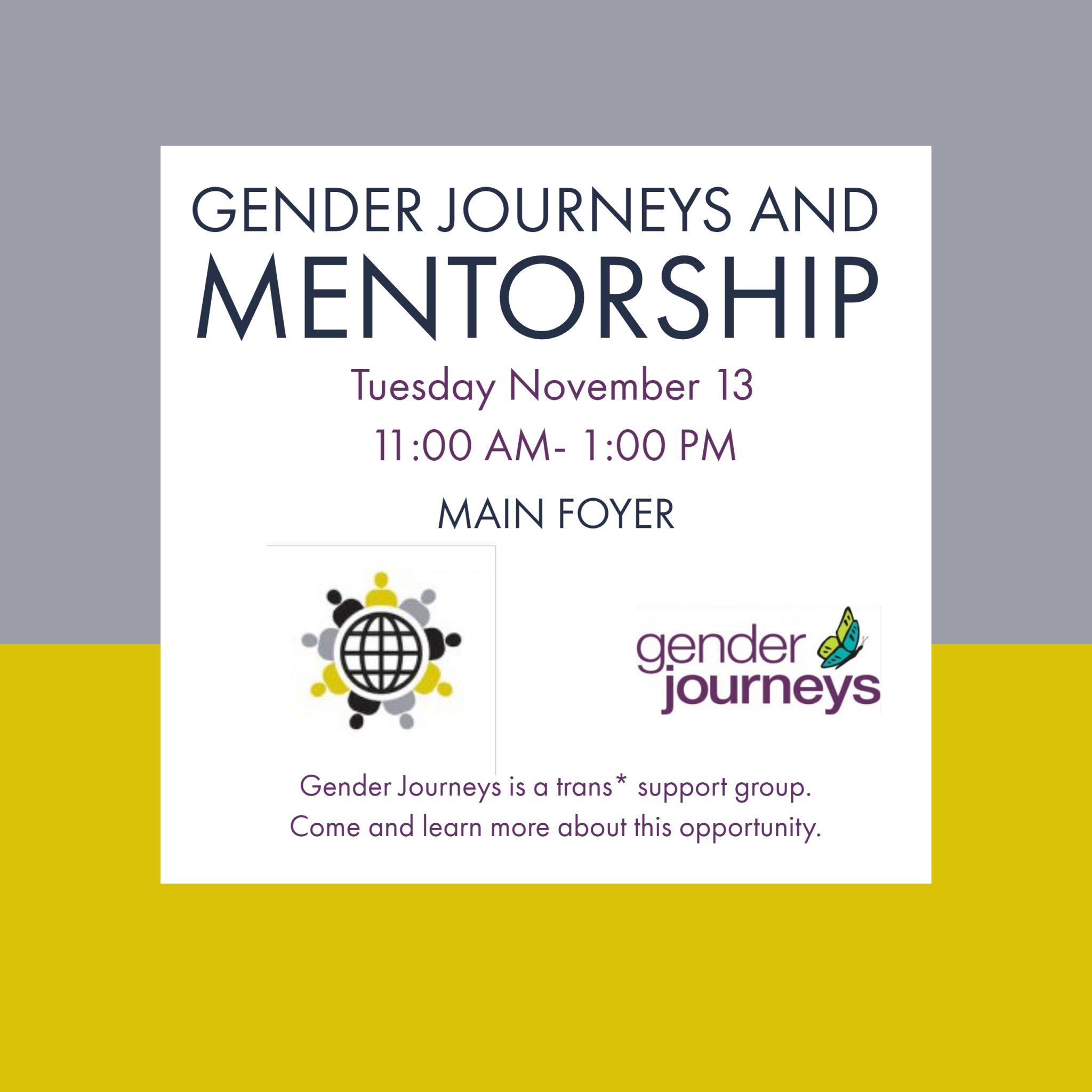 Gender Journeys and Mentoring