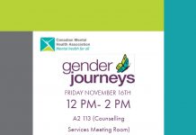 Gender Journeys- Sutherland Campus November 16