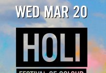 Holi Party Sutherland Campus