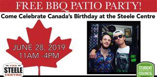 Canada Day Celebration Poster