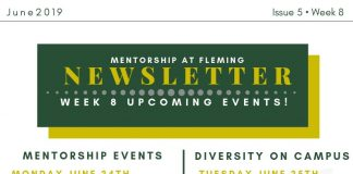 Week 8 Mentorship Newsletter
