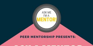 Ask a Mentor Drop-In Poster